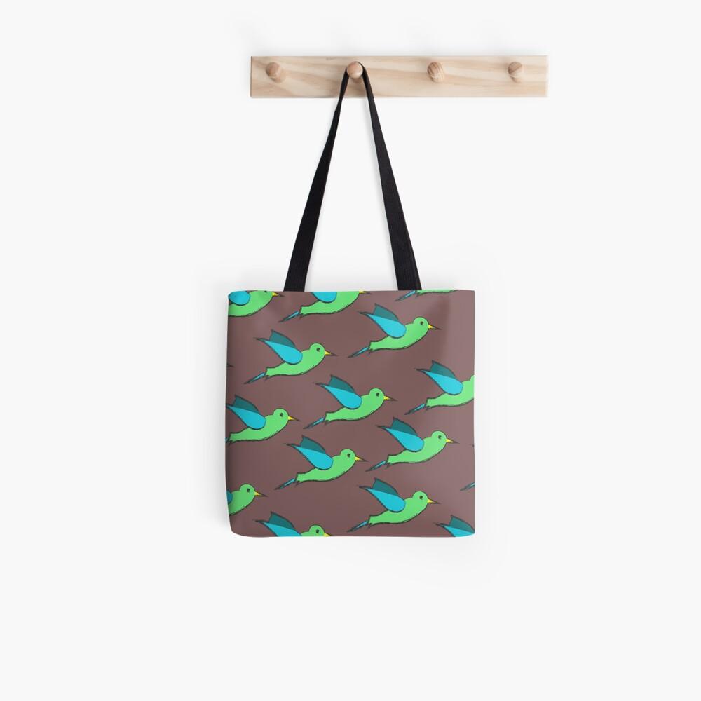 Cute Birds Tote Bag