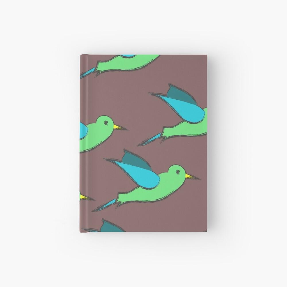 Cute Birds Hardcover Journal