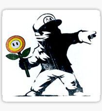 The Mario Flower Chucker Sticker
