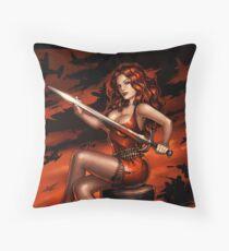 Sword of War Throw Pillow