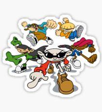 90s cartoons stickers redbubble