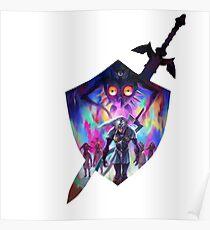 zelda sword and shield Poster