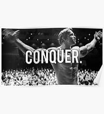 CONQUER (Arnold Poster) Poster