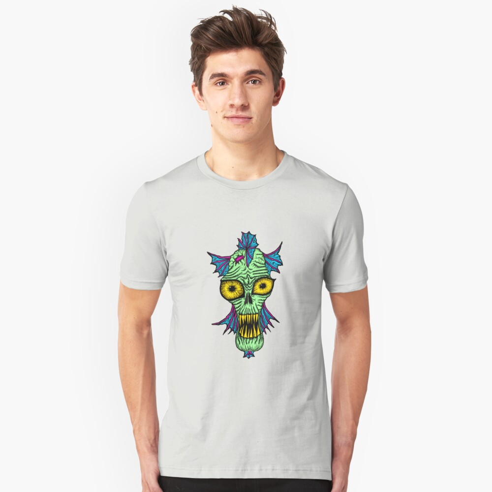 Monster Mondays #1 - Launched on halloween Slim Fit T-Shirt