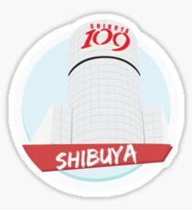 Shibuya, Tokyo Sticker
