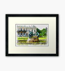 Castle Den Brandt - Antwerp - Belgium Framed Print