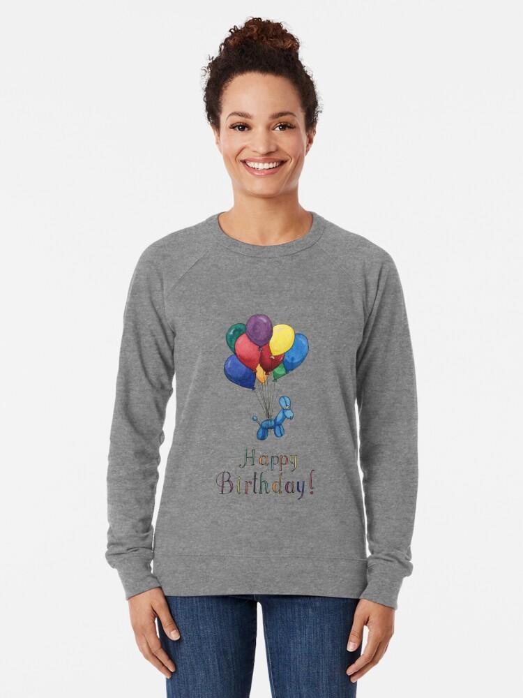 Alternative Ansicht von Ballon Tier Geburtstagsballons! Leichter Pullover