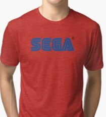 Sega classic arcade and console games Tri-blend T-Shirt