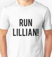 RUN LILLIAN! - FONT TWO T-Shirt