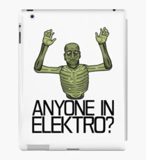 Anyone in Elektro? iPad Case/Skin