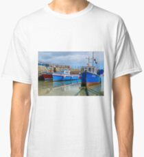Moored Boats on Scillies Classic T-Shirt