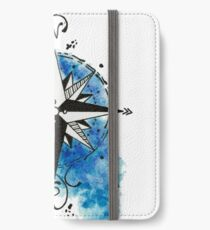 Sea Compass iPhone Wallet/Case/Skin