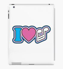 I Love Music iPad Case/Skin