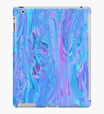 Mystic cold rays playing. Marble design iPad Case/Skin