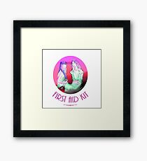 First Aid Kit  Framed Print