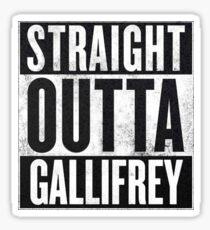 Gallifrey Sticker