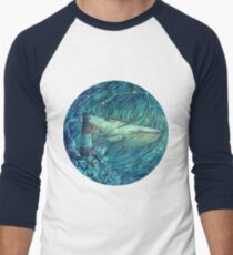Moonlit Sea Baseball ¾ Sleeve T-Shirt