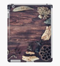 Rustic Marine Border iPad Case/Skin