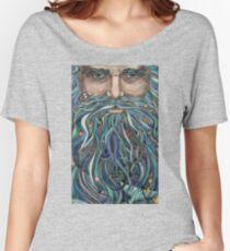 Old man Ocean Women's Relaxed Fit T-Shirt
