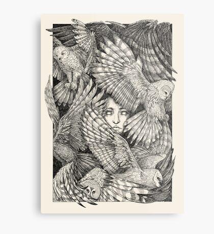 Daughter of Owls Metal Print