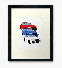 GTI MKV Framed Print