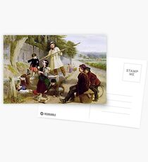 William Henry Knight - Rivals to Blondin  Postcards