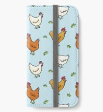Organized Chickens iPhone Wallet
