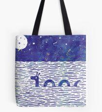 Nightswimming Nessie Tote Bag