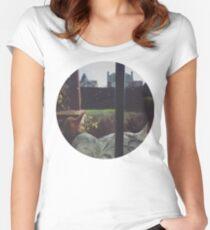 Sleepy Cat Women's Fitted Scoop T-Shirt