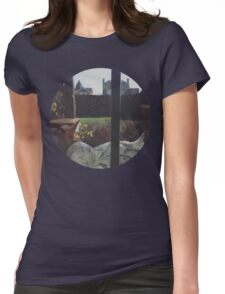 Sleepy Cat Womens Fitted T-Shirt