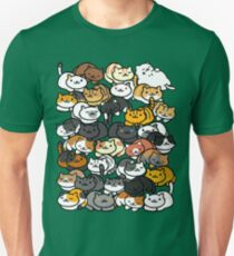Neko Atsume Sleepy Kitties T-Shirt