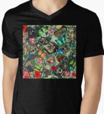 tropical vintage  Mens V-Neck T-Shirt