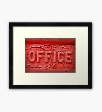 Office Framed Print