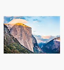 El Capitan Sunset Photographic Print