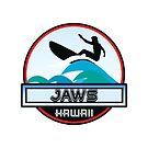 Surfing JAWS OAHU HAWAII Surf Surfer Surfboard Waves Ocean Beach Vacation Stickers by MyHandmadeSigns