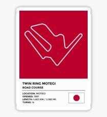 Twin Ring Motegi - v2 Sticker