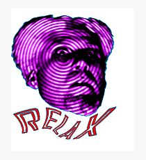 MUGATU SAY RELAX Photographic Print
