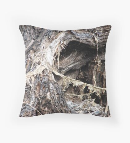 Roots 'n all Throw Pillow