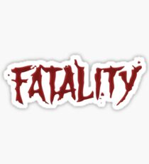 Mortal kombat Fatality Sticker