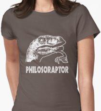 Philosoraptor T-Shirt Womens Fitted T-Shirt
