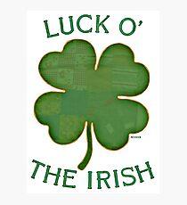 Luck 'O The Irish Photographic Print