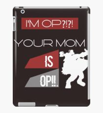 Bro iPad Case/Skin