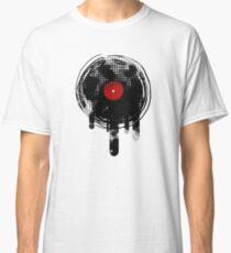 Melting Vinyl Records Vintage Classic T-Shirt