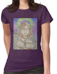 Gaia - Mother Of Earth Womens Fitted T-Shirt