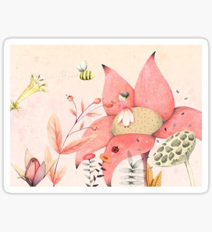 Thumbelina I Sticker