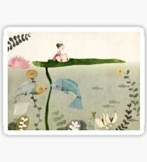 Thumbelina III Sticker
