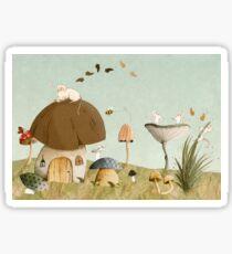 Mouse Garden Sticker