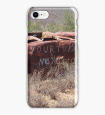 Dire warning iPhone Case/Skin