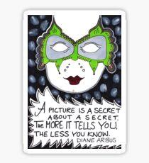 A Picture Is A Secret Sticker