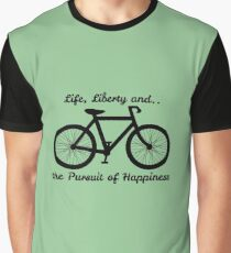 Life, Liberty and the Pursuit of Happiness Graphic T-Shirt